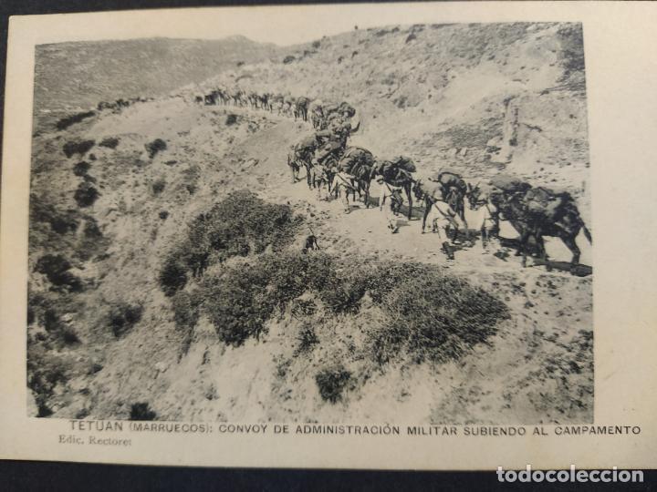 Postales: TETUAN-CONVOY ADMINISTRACION MILITAR-ED·RECTORET-POSTAL ANTIGUA-VER FOTOS-(64.369) - Foto 2 - 183416190