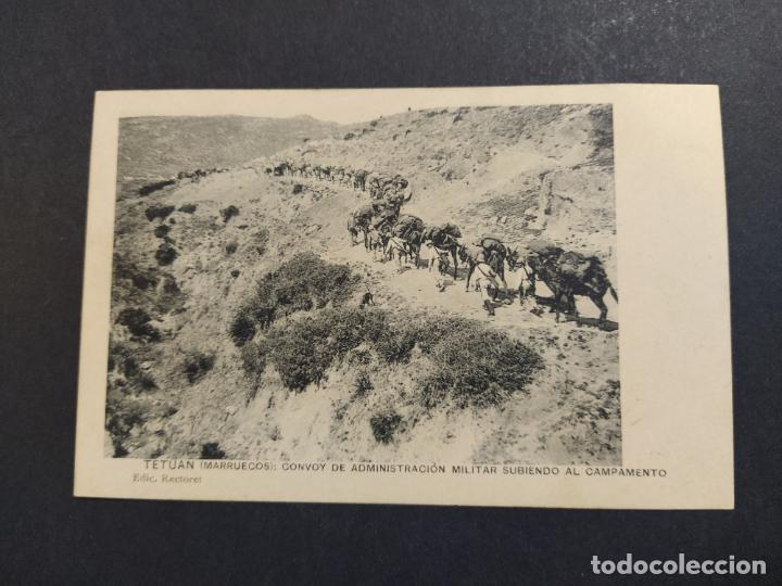 TETUAN-CONVOY ADMINISTRACION MILITAR-ED·RECTORET-POSTAL ANTIGUA-VER FOTOS-(64.369) (Postales - Postales Temáticas - Ex Colonias y Protectorado Español)