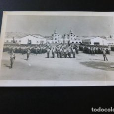 Postales: EL AAIUM SAHARA ESPAÑOL MILITARES EN CUARTEL POSTAL FOTOGRAFICA. Lote 183526156