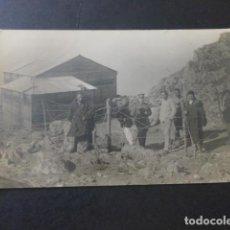 Postales: GUERRA DE MARRUECOS HACIA 1920 POSTAL FOTOGRAFICA MILITARES ESPAÑOLES. Lote 183689878