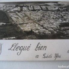 Postales: SIDI IFNI. FOTO- POSTAL VISTA AEREA. ESCRITA EN DORSO1967. Lote 183728516