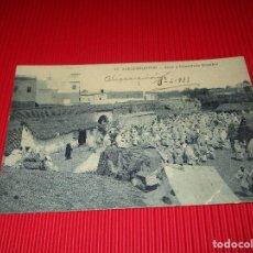 Postales: ALKAZARQUIVIR - ZOCO Y CONSULADO ESPAÑOL -13 - ESCRITA - MARRUECOS - COLECCION M. RUBIALES. Lote 187524908