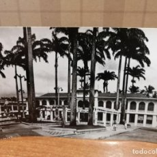 Postales: FOTO POSTAL GUINEA ESPAÑOLA. SANTA ISABEL. PLAZA ESPAÑA Y GOBIERNO GENERAL. Nº 154 S/C. Lote 193991801