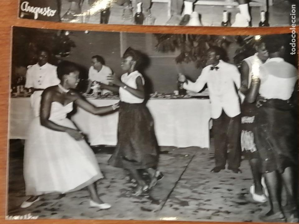 Postales: FOTO POSTAL LOTE 2 GUINEA ESPAÑOLA. Orquestina de Santa Isabel i bailes nativos de Santa Isabel - Foto 3 - 194006470