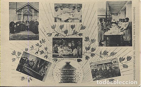 123039 FERNANDO POO GUINEA ESPAÑOLA RECREATORIO DE HAYES, IMPRENTA Y CARPINTERIA DE BANAPE, BASILE.. (Postales - Postales Temáticas - Ex Colonias y Protectorado Español)