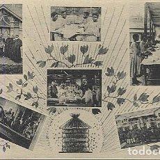 Postales: 123039 FERNANDO POO GUINEA ESPAÑOLA RECREATORIO DE HAYES, IMPRENTA Y CARPINTERIA DE BANAPE, BASILE... Lote 194217065