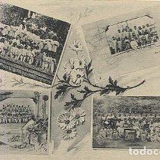 Postales: X123040 FERNANDO POO GUINEA ESPAÑOLA ESCUELAS GRADUADAS SANTA ISABEL, CONCEPCIONISTAS DE BASILE. Lote 194217123