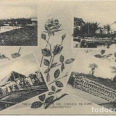 Postales: 123042 FERNANDO POO GUINEA ESPAÑOLA PLANTACIONES DE RIUS, DE VIVOUR, BOTE DE LA MISION, NINOS FIESTA. Lote 194217346