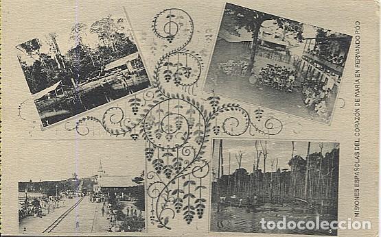 X123043 FERNANDO POO GUINEA ESPAÑOLA FERROCARRIL, PRESA Y ASERRADORA DE CABO SAN JUAN, LOCOMOTORA (Postales - Postales Temáticas - Ex Colonias y Protectorado Español)