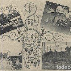 Postales: X123043 FERNANDO POO GUINEA ESPAÑOLA FERROCARRIL, PRESA Y ASERRADORA DE CABO SAN JUAN, LOCOMOTORA . Lote 194217476