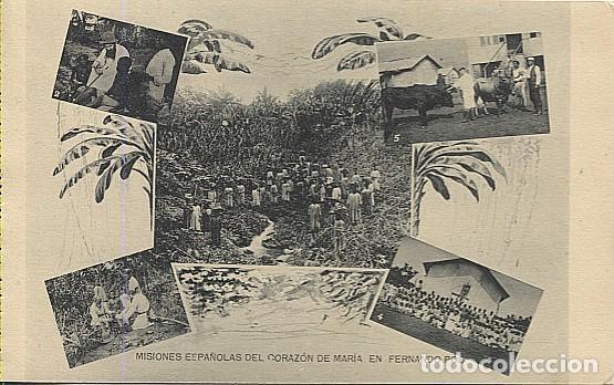 X123045 FERNANDO POO GUINEA ESPAÑOLA COSTA Y RODRIGUEZ CURANDO A UN INDIGENA, CATEQUIZANDO, TOROS... (Postales - Postales Temáticas - Ex Colonias y Protectorado Español)