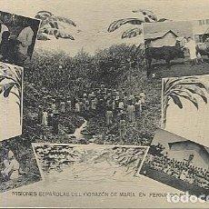 Postales: X123045 FERNANDO POO GUINEA ESPAÑOLA COSTA Y RODRIGUEZ CURANDO A UN INDIGENA, CATEQUIZANDO, TOROS.... Lote 194217717