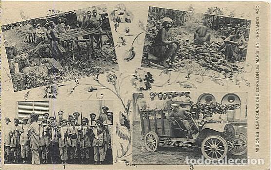 123046 FERNANDO POO GUINEA ESPAÑOLA DESPUES CAZA ANTILOPAS ARDILLAS Y PUERCOS ESPINES, CAMION BANAPA (Postales - Postales Temáticas - Ex Colonias y Protectorado Español)