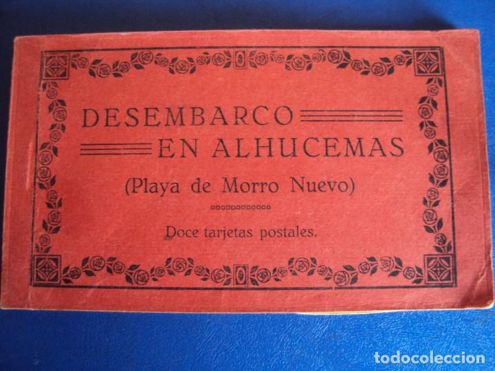 (PS-63069)BLOCK DE POSTALES DESEMBARCO DE ALHUCEMAS - PLAYA DE MORRO NUEVO (Postales - Postales Temáticas - Ex Colonias y Protectorado Español)