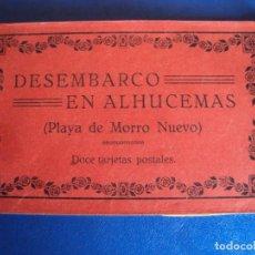 Postales: (PS-63069)BLOCK DE POSTALES DESEMBARCO DE ALHUCEMAS - PLAYA DE MORRO NUEVO. Lote 194219466