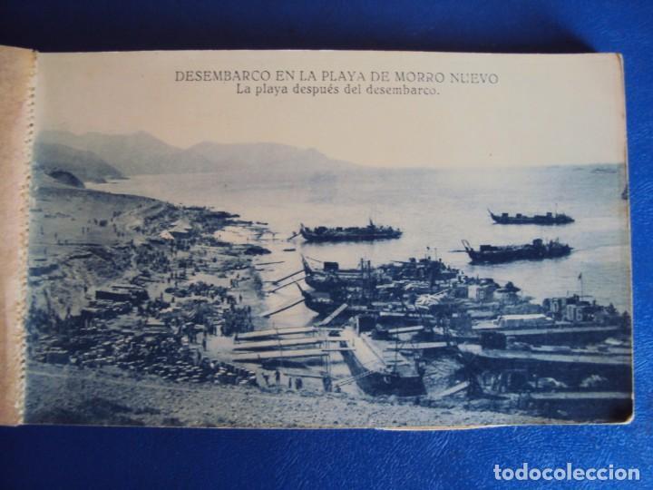 Postales: (PS-63069)BLOCK DE POSTALES DESEMBARCO DE ALHUCEMAS - PLAYA DE MORRO NUEVO - Foto 2 - 194219466