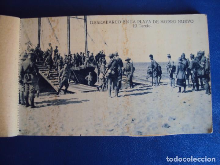 Postales: (PS-63069)BLOCK DE POSTALES DESEMBARCO DE ALHUCEMAS - PLAYA DE MORRO NUEVO - Foto 3 - 194219466