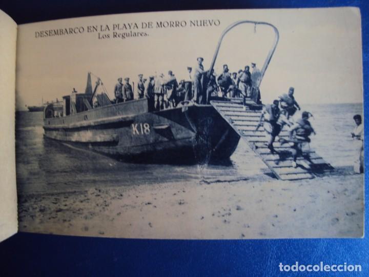 Postales: (PS-63069)BLOCK DE POSTALES DESEMBARCO DE ALHUCEMAS - PLAYA DE MORRO NUEVO - Foto 8 - 194219466