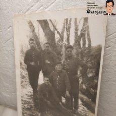 Postales: FOTO POSTAL DE SOLDADOS ESPAÑOLES EN LA GUERRA DEL RIF EN MARRUECOS. Lote 194572925