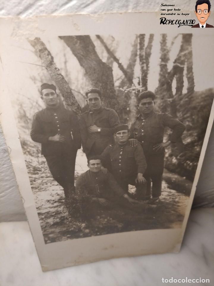 Postales: FOTO POSTAL DE SOLDADOS ESPAÑOLES EN LA GUERRA DEL RIF EN MARRUECOS - Foto 2 - 194572925