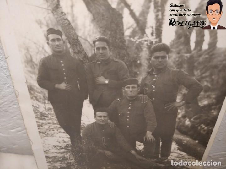Postales: FOTO POSTAL DE SOLDADOS ESPAÑOLES EN LA GUERRA DEL RIF EN MARRUECOS - Foto 3 - 194572925