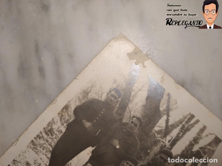 Postales: FOTO POSTAL DE SOLDADOS ESPAÑOLES EN LA GUERRA DEL RIF EN MARRUECOS - Foto 7 - 194572925