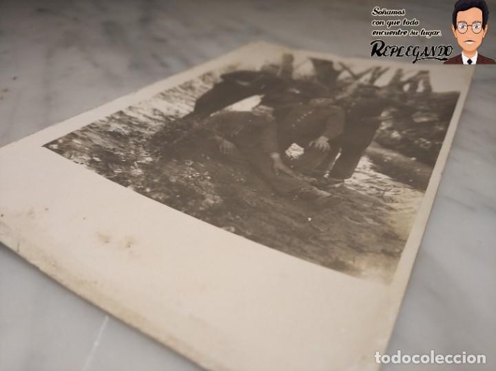 Postales: FOTO POSTAL DE SOLDADOS ESPAÑOLES EN LA GUERRA DEL RIF EN MARRUECOS - Foto 8 - 194572925