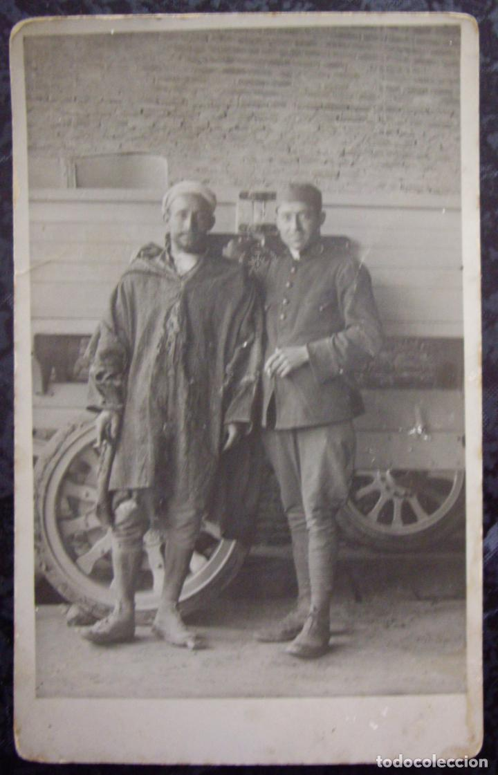 Postales: TETUAN (Marruecos) - Campamento de SANIA RAMEL 1924 - CONJUNTO DE 6 POSTALES - Foto 6 - 195106490