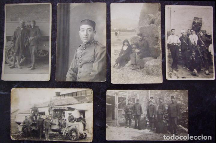 TETUAN (MARRUECOS) - CAMPAMENTO DE SANIA RAMEL 1924 - CONJUNTO DE 6 POSTALES (Postales - Postales Temáticas - Ex Colonias y Protectorado Español)