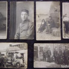 Postales: TETUAN (MARRUECOS) - CAMPAMENTO DE SANIA RAMEL 1924 - CONJUNTO DE 6 POSTALES. Lote 195106490