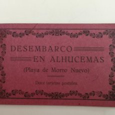 Postales: DESEMBARCO EN ALHUCEMAS EL TERCIO. Lote 195406205