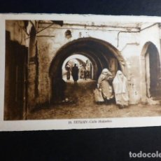 Postales: TETUAN CALLE MUKADEN. Lote 195800257