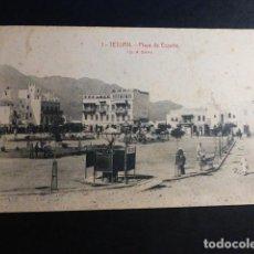 Postales: TETUAN PLAZA DE ESPAÑA. Lote 195803333