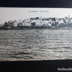 Postales: LARACHE PLAYA MILITAR. Lote 195805098