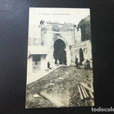 Postales: LARACHE PUERTA DE LA ALCAZABA. Lote 196302512