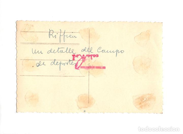 Postales: RIFFIEN.- UN DETALLE DEL CAMPO DE DEPORTES. FOTO CASA ROS. - Foto 2 - 199813145