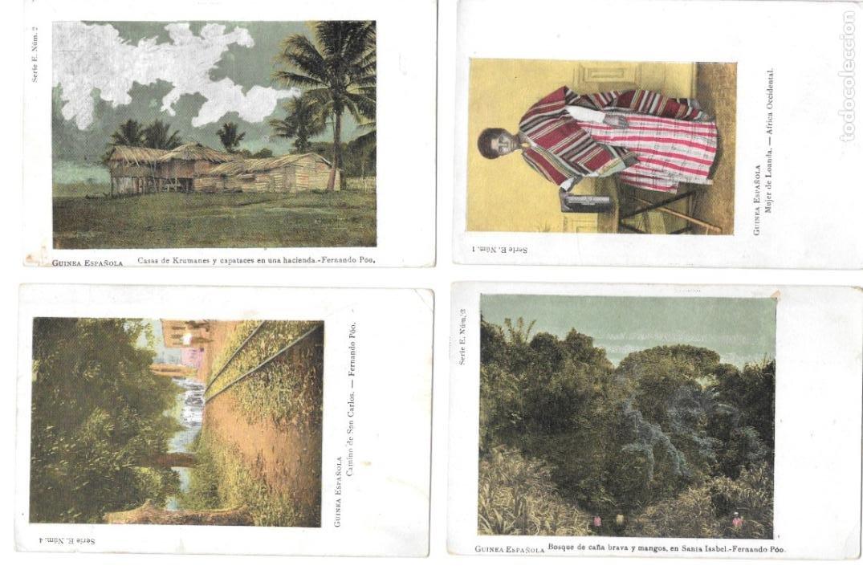 P-11478. COLECCION DE 10 POSTALES GUINEA ESPAÑOLA. FERNANDO POO (Postales - Postales Temáticas - Ex Colonias y Protectorado Español)