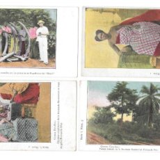 Postales: P-11481. LOTE DE 10 POSTALES SERIE 1 GUINEA ESPAÑOLA.. Lote 203240858