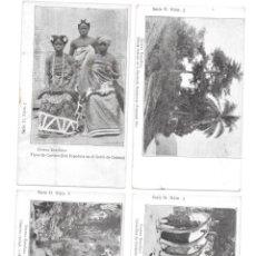 Postales: P-11503. LOTE DE 6 POSTALES FOTOGRAFICAS GUINEA ESPAÑOLA. SERIE H.. Lote 203596208
