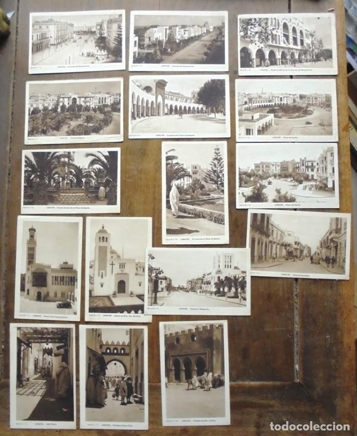 16 POSTAL LARACHE HAB EDICIONES CARMEN CREMADES (LARACHE, MARRUECOS) FOTO MEDIAMARCA TARJETA POSTAL (Postales - Postales Temáticas - Ex Colonias y Protectorado Español)