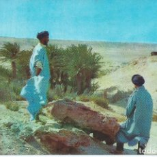 Postales: SAHARA. OASIS EL MESELLE. Lote 206171175
