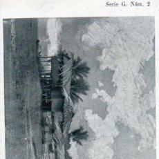 Postales: POSTAL GUINEA ESPAÑOLA (FERNANDO PÓO) CASAS DE KRUMANES Y CAPATACES EN UNA HACIENDA- SERIE G. NÚM. 2. Lote 211642935