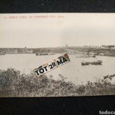 Postales: POSTAL SANTA ISABEL DE FERNANDO POO - GUINEA ESPAÑOL- BAHÍA. Lote 211957892