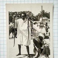 Postales: ENCANTADOR DE SERPIENTES. PROTECTORADO ESPAÑOL, H. 1940. SIN CIRCULAR. Lote 213279240