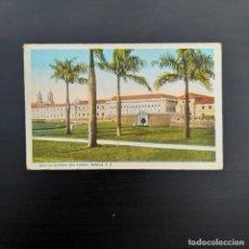 Postales: POSTAL COLOREADA, BONIFACIO DRIVE AND ATENEO MANILA P307. Lote 214210532
