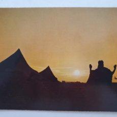 Cartes Postales: SAHARA ESPAÑOL - REZO A LA PUESTA DEL SOL - LMX - SHE. Lote 214715282