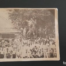 Cartes Postales: POSTAL ANTIGUA MISIÓN DE LAS CAROLINAS Y MARIANAS, IGLESIA DE TOLOAS DE TRUK (CAROLINAS) P419. Lote 214847863