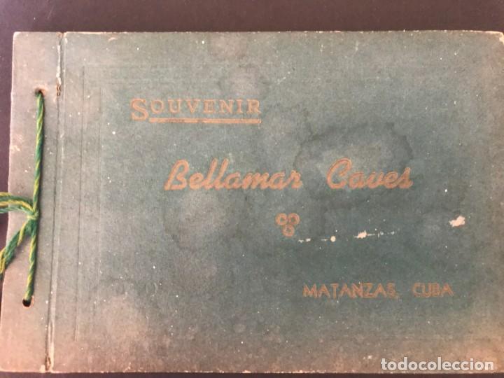 CUBA, CUEVA DE BELLAMAR EN MATANZAS. LIBRO RECUERDO CON 10 POSTALES. VER FOTOS (Postales - Postales Temáticas - Ex Colonias y Protectorado Español)