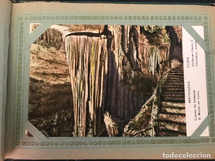 Postales: Cuba, Cueva de Bellamar en Matanzas. Libro recuerdo con 10 postales. Ver fotos - Foto 3 - 215927622