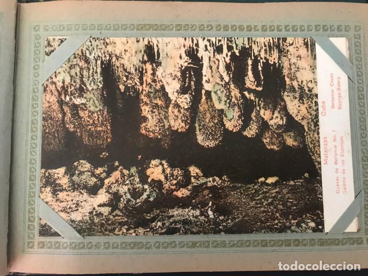 Postales: Cuba, Cueva de Bellamar en Matanzas. Libro recuerdo con 10 postales. Ver fotos - Foto 5 - 215927622
